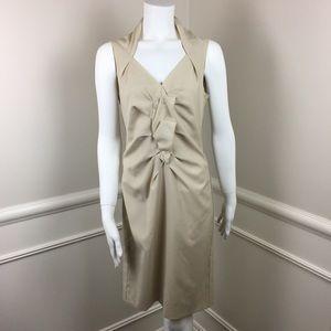 Magaschoni Womens Sleeveless Shift Dress Size 0